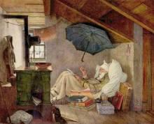 Beidermeier-Painting-by-Carl-Spietzweg
