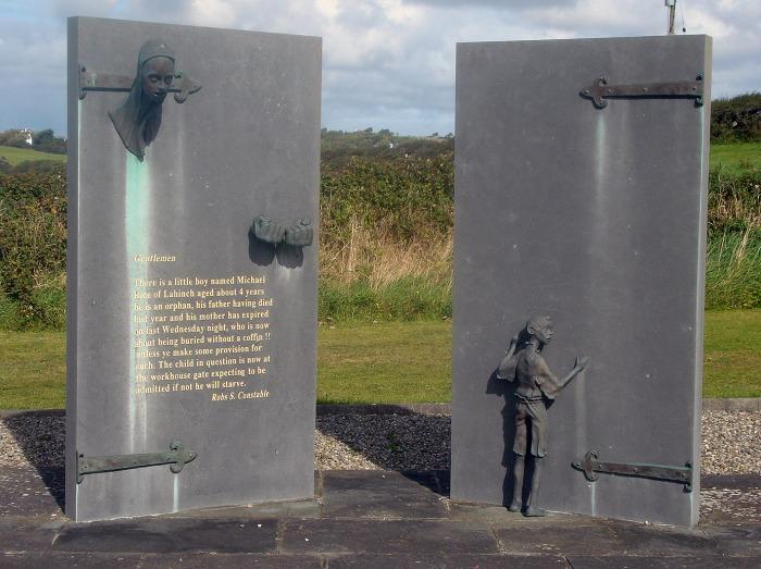Famine-memorial